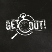 logo Get Out ! Caen (Escape Game)