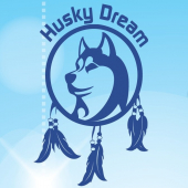 logo Husky Dream, Chiens de traineau