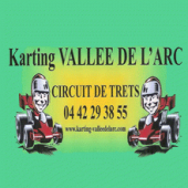 logo Karting Vallée de l'Arc